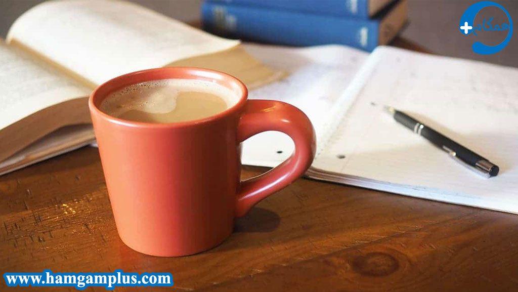 قهوه باعث رفع خواب آلودگی حین مطالعه می شود